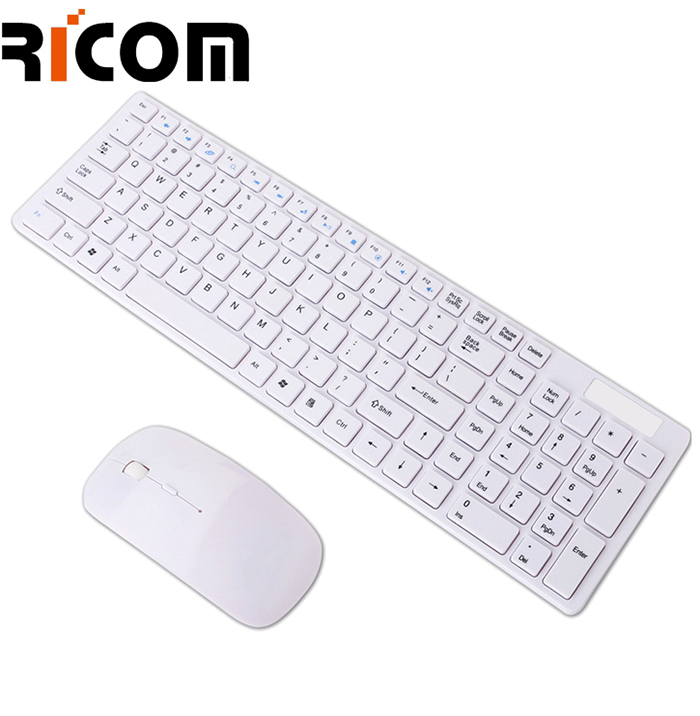 White Keybiared and mouse set WKM-111