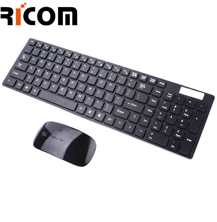 Black Keyboard and Mouse Kit WKM-111