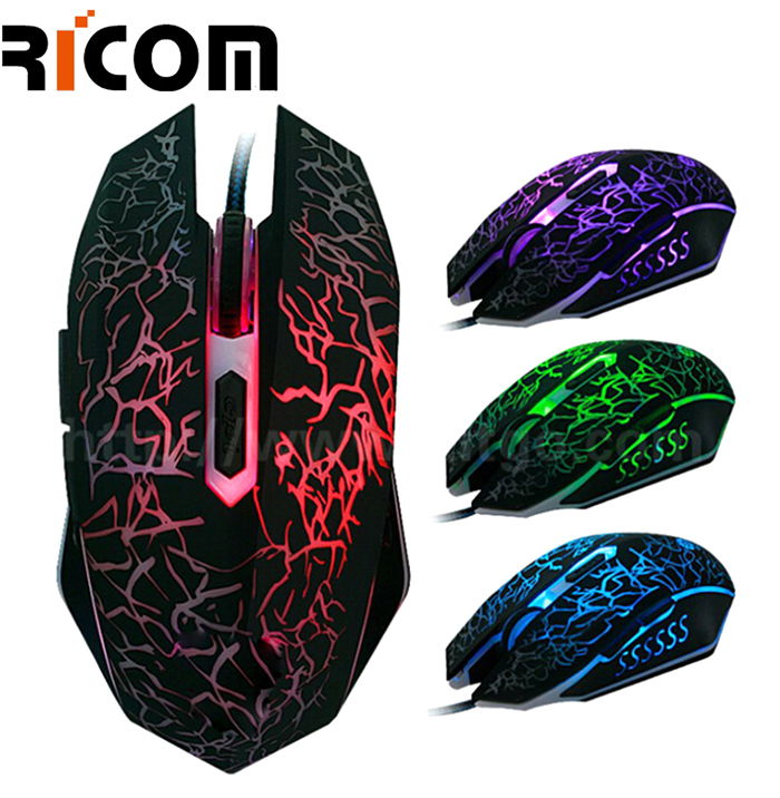 Crack Light Wired Gaming Mouse GM-16