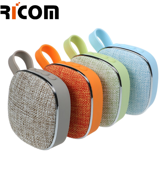 Keychain cloth fabric square speaker BSP-207B