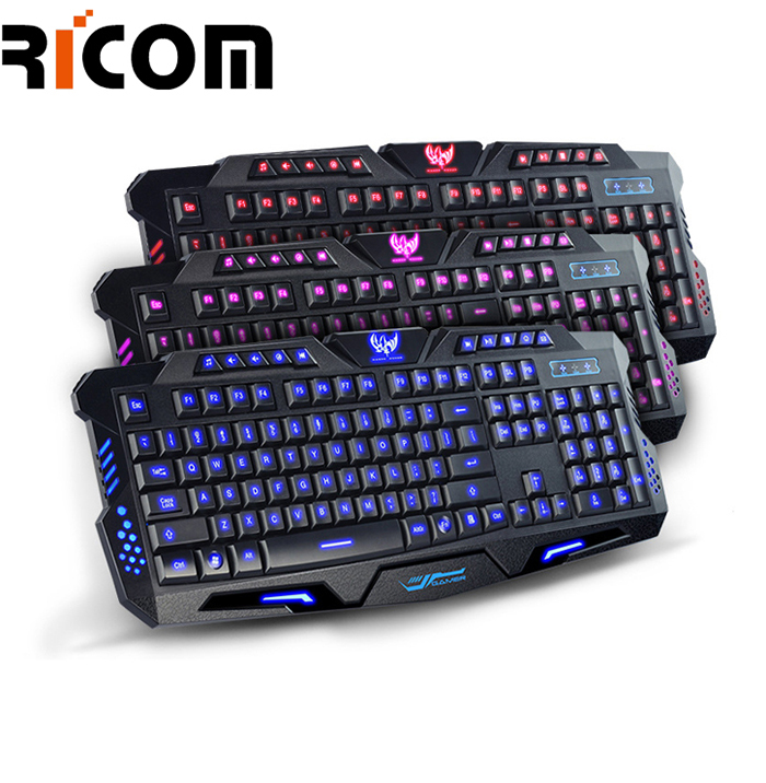 Letter Light Gaming Keyboard  LK-611