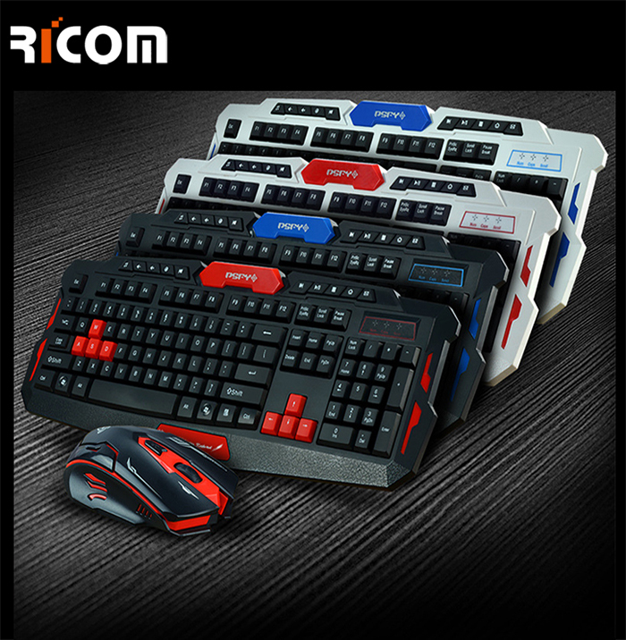 Wireless gaming keyboard and mouse WKM-609