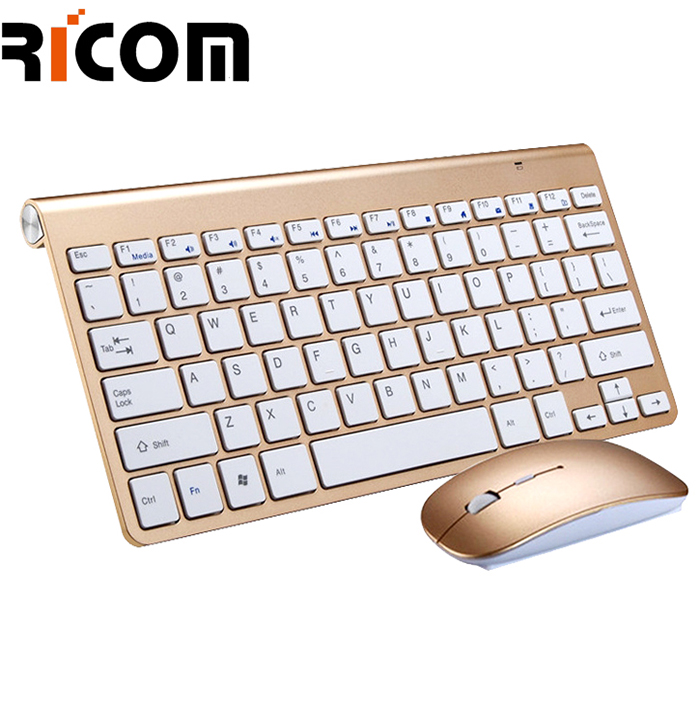 78keys Metal Keyboard Mouse Set WKM-119