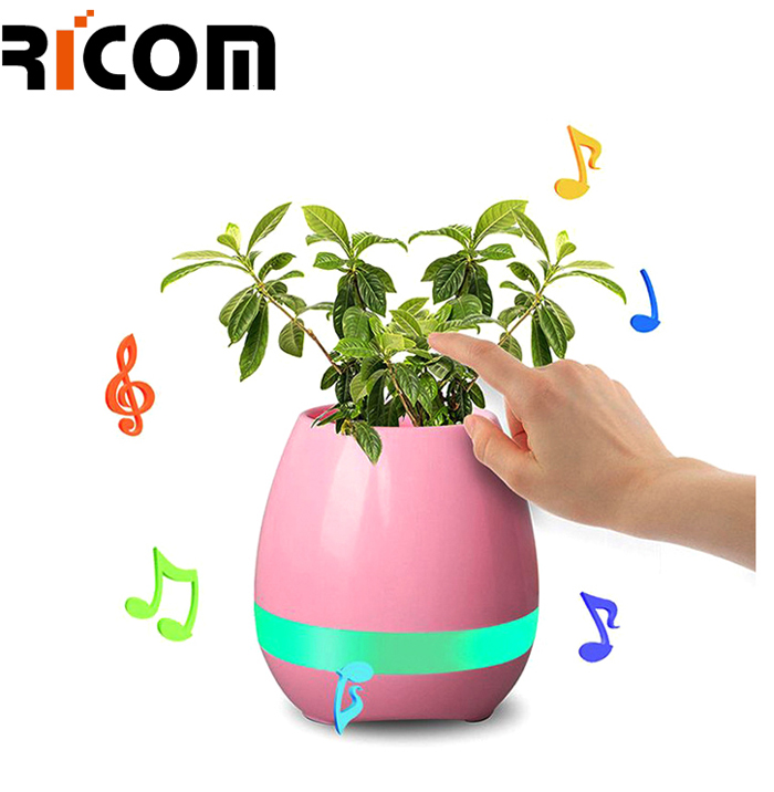 Flower Pot And LED Light speaker BSP-230D