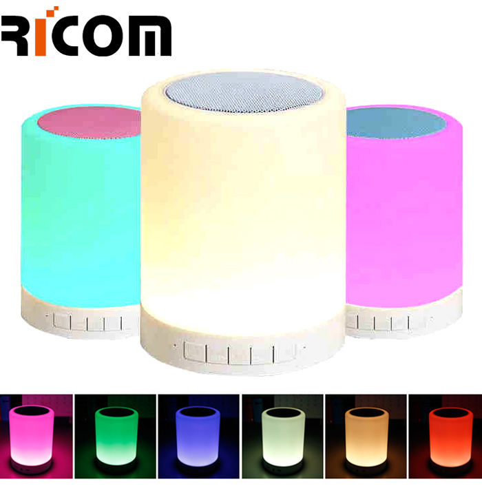 Touch led light blue tooth speaker S-17