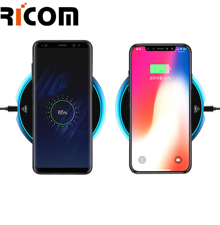High-End Aluminum Wireless Charger for QI Standard Phone WH-615