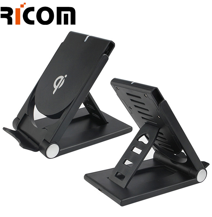 Foldable Mobile Holder Wireless Charging pad WH-605