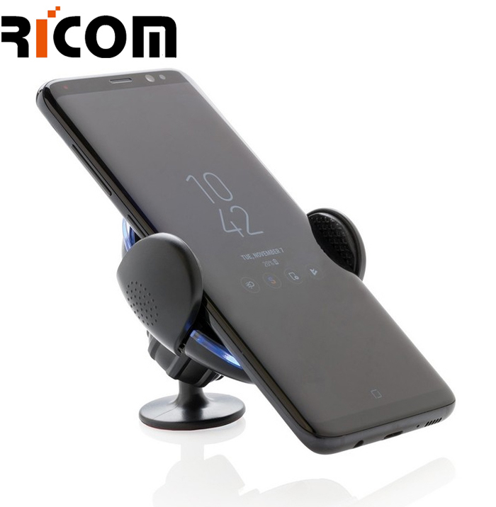 2 in 1 Adjustable Air Vent Car Mounted Wireless Charger WH-609