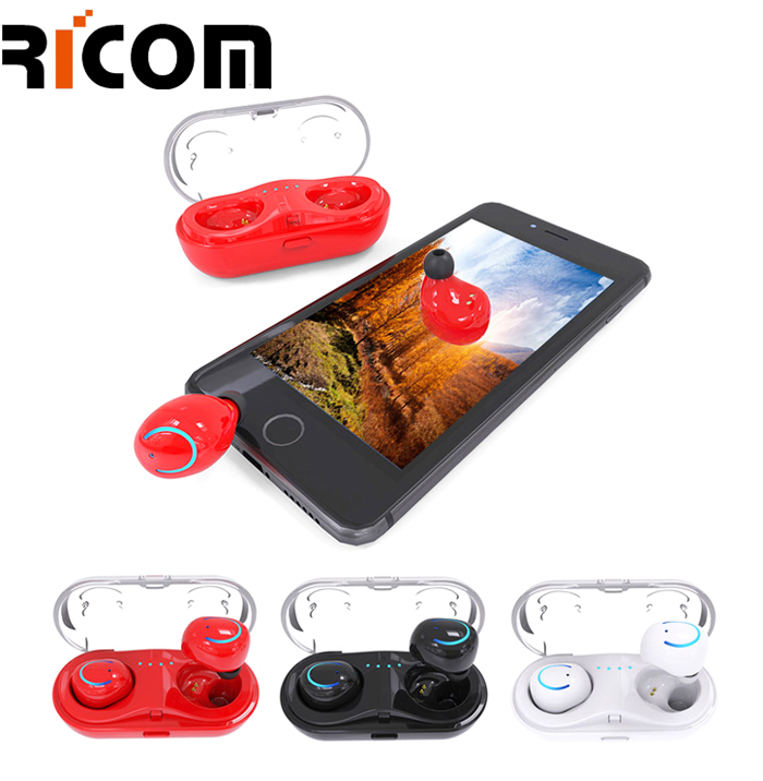 Upgraded Blue tooth 5.0 Wireless Earbuds BTH-220