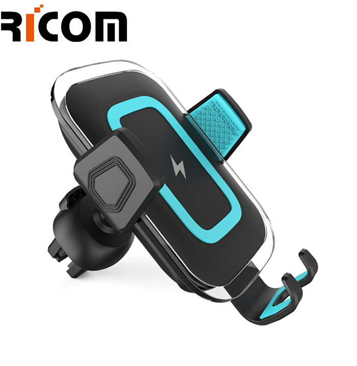 360 degree rotation 10W wireless charger with holder WH-603
