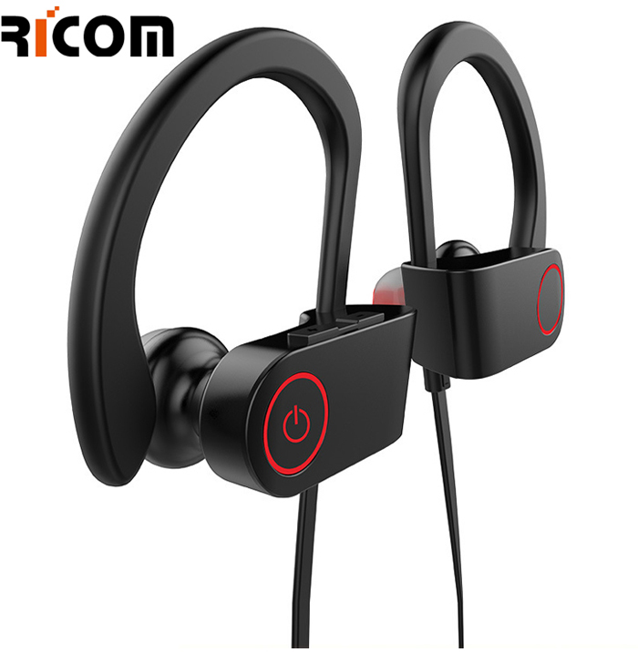 Amazon Best selling Super Bass sport wireless bluetooth noise cancelling Stereo headphone Neckband earphone