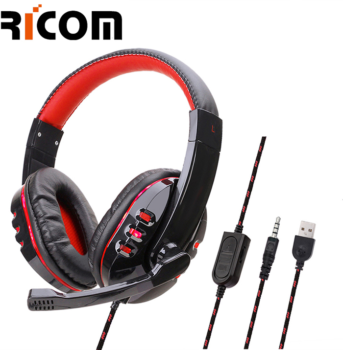Cool Design Gaming Backlight Headphone BTH-203A