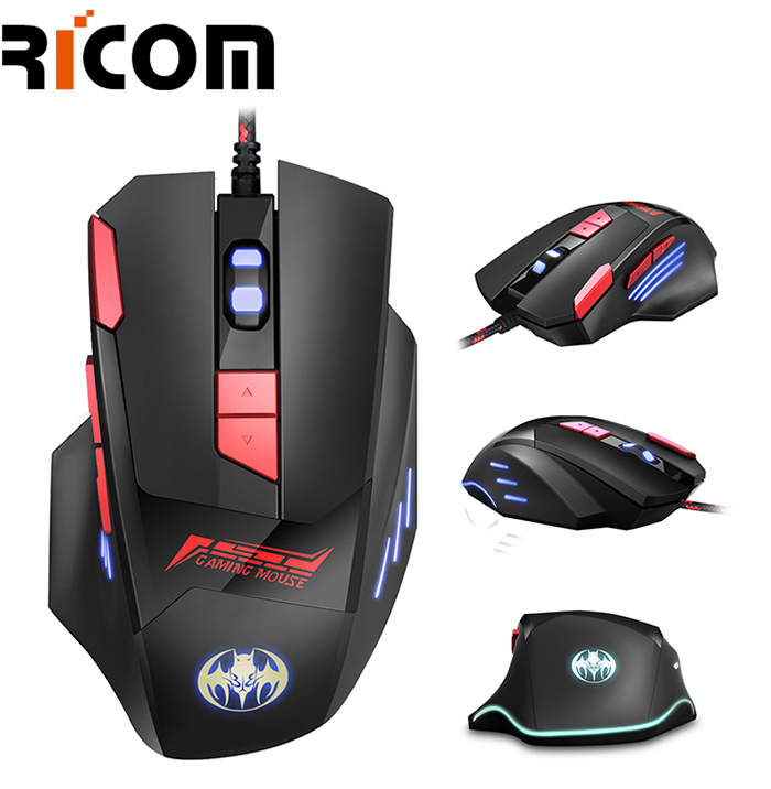 8D Wired Gaming RGB Mouse GM6093