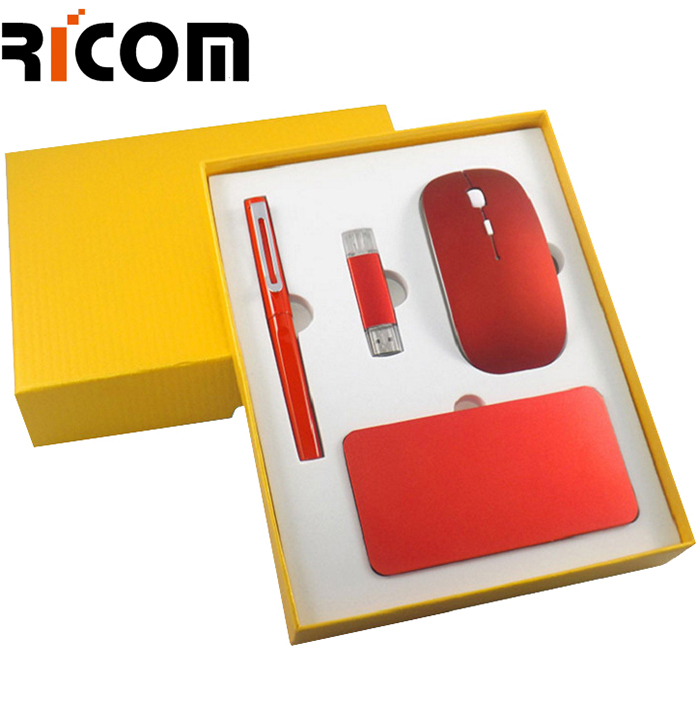 4 in 1 Combo--Mouse Pen USB Disk Power Bank
